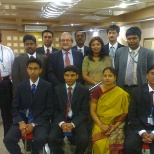 Standard Chartered Bank photo: With CEO at 2006
