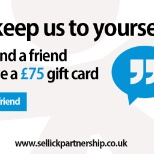 photo of Sellick Partnership Limited, Recommend a friend