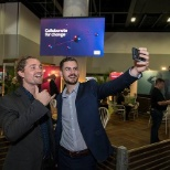 Josh and Glenn from our Sydney IT team out at CeBIT 2018