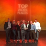 loanDepot received top honors at the 2015 OC Register Top Workplaces awards