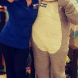 Easter with our PetSmart bunny