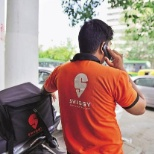 Swiggy photo: Delivery Executive