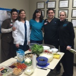 HARBIN CLINIC photo: Winners from our Healthy Eating Challenge. Harbin Clinic employees practice better eating habits.