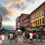 Downtown Rutland Vermont boasts countless activities year round - farmer's markets to kids' events.