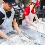 photo of KFC, Two cooks making the chicken