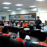 During QHSE Training to new hired HSE Engineers