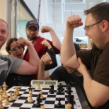 Nerdery photo: Lunchtime chess