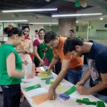 Our Noida employees having some fun in celebration of 72nd Independence Day!