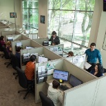 Celerion photo: Our fantastic customer service center!