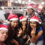 Tech Mahindra photo: My colleagues n me