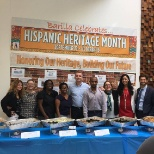 Recognizing Hispanic Heritage Month with guests, colleagues and yes.. more food.