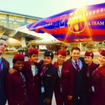 Qatar Airways photo: My last flight