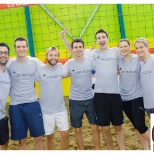 Our Support Centre volleyball team Serving for Sinai!