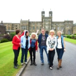Oxford University Press photo: End of term day out