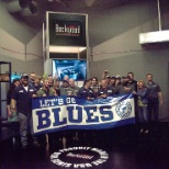 Supporting the Blues!