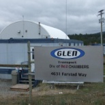 Entrance to Glen Transport Ltd