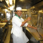 Celebrity Cruises photo: galley workshop