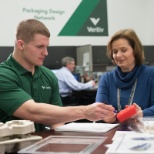 Veritiv packaging experts work with customers to deliver on form and function.