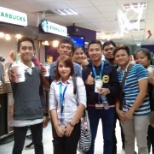 Convergys photo: End of Shift photo with the TEAM and free starbucks!