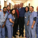 Medical City Alliance Cardiac Team's patient thanked them for saving his life after his heart attack