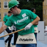 photo of Fidelity Investments, Fidelity Cares began School Transformation Days in 2010.