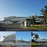 Royal Caribbean Cruises Ltd. photo: Adventure of the Seas in Muelle Panamericano 2 in San Juan PR