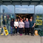 photo of Mountain Warehouse, The Epic Epping opening team... welcoming our 300th store.
