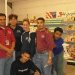Store manager and former co-workers.