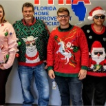 Florida Home Improvement Associates photo: Ugly Sweater Champions! Tampa 2018