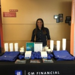GM Financial photo: A GMF Recruiter is working the schedule to visit universities and colleges to meet future interns!