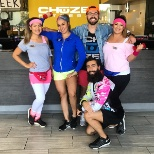 Chuze Staff takes it back to the 80s!