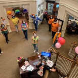 Sunrise of Wayne, NJ, held a Rainbow Day to brighten residents' spirits!