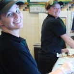 Friends at Subway! 2011