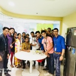 photo of Genpact, Birthday celebration at office
