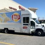 Frito-Lay photo: Here's a photo of my route truck.