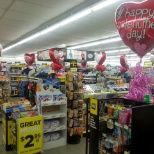 I took this photo to send to my DM for a Valentine's Day balloon contest.