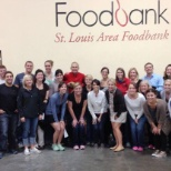 Volunteering with St. Louis Area Foodbank