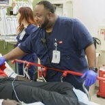 RN serves local community for 17 years in Adult Level 1 Trauma Center.