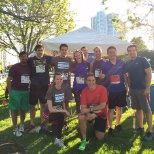 Adage Technologies photo: Adage runners at the 2015 Chase Corporate Challenge