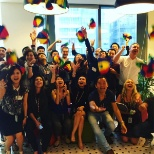 Nooglers in our Singapore office