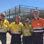 At the Newmont Boddington mine