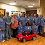 The Pediatric Care Team brings the joy of play to their young patients.