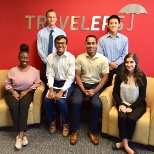 Travelers photo: Our Richardson, Texas interns are committed to a job well done.