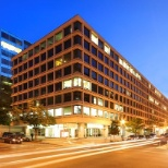 USAC photo: Almost all of our 400+ employees reside in the heart of DC, on multiple floors within 2000 L St NW.