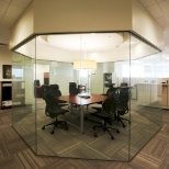 "Citizant's main office is built with transparency in mind -- hence our ""fish bowl"" meeting room!"