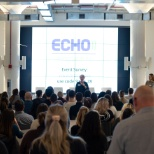 "Echo Global Logistics photo: ""Women at Echo"" holding an event announcing their many plans in 2019!"