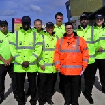 Global Security Stewarding Limited photo: Staff working the Blackpool Illuminations Switch On Concert