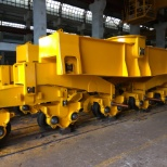 Travelling mechanism of Bulk material handling equipment.