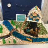 Amazing entrants in our Gingerbread House Contest!