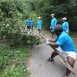 ServiceMaster photo: Shelby Farms service project